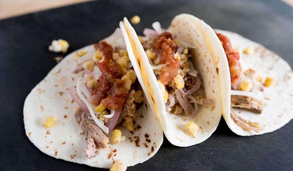 Spice Rubbed Pork Tacos