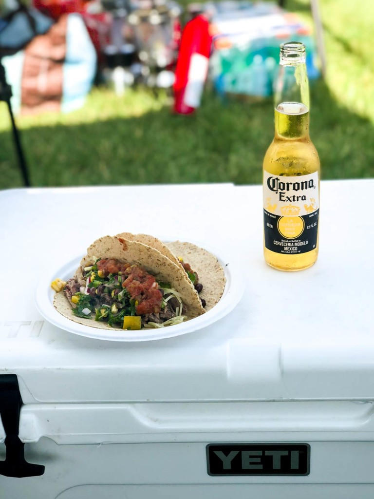 Watershed Tacos with a Carona