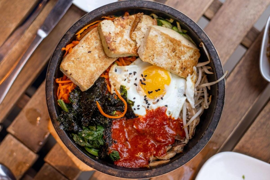 Bibimbap at Southgate in Philly
