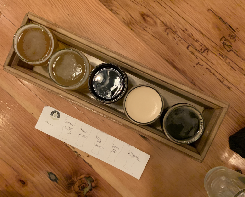 Immersion, bend brewery