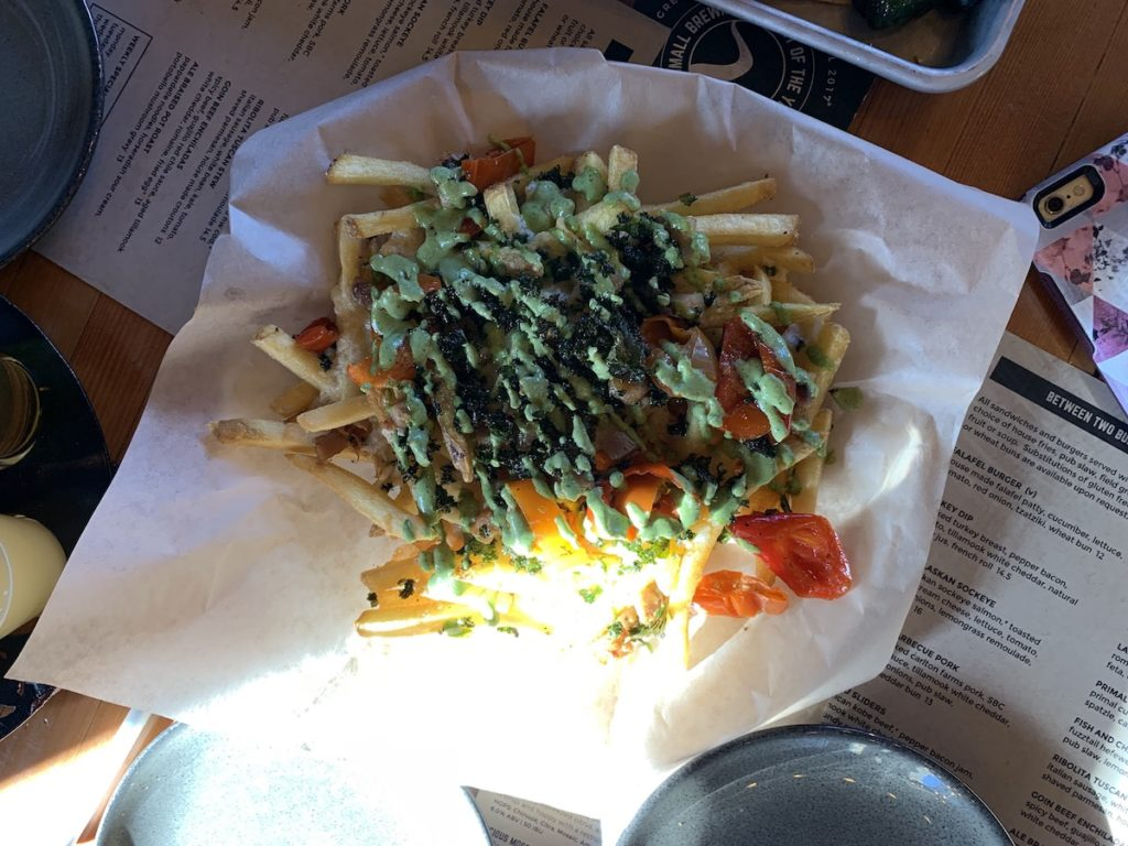 Sunriver Brewing Dirty Fries